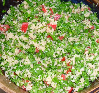 Tabouleh with Bulgur